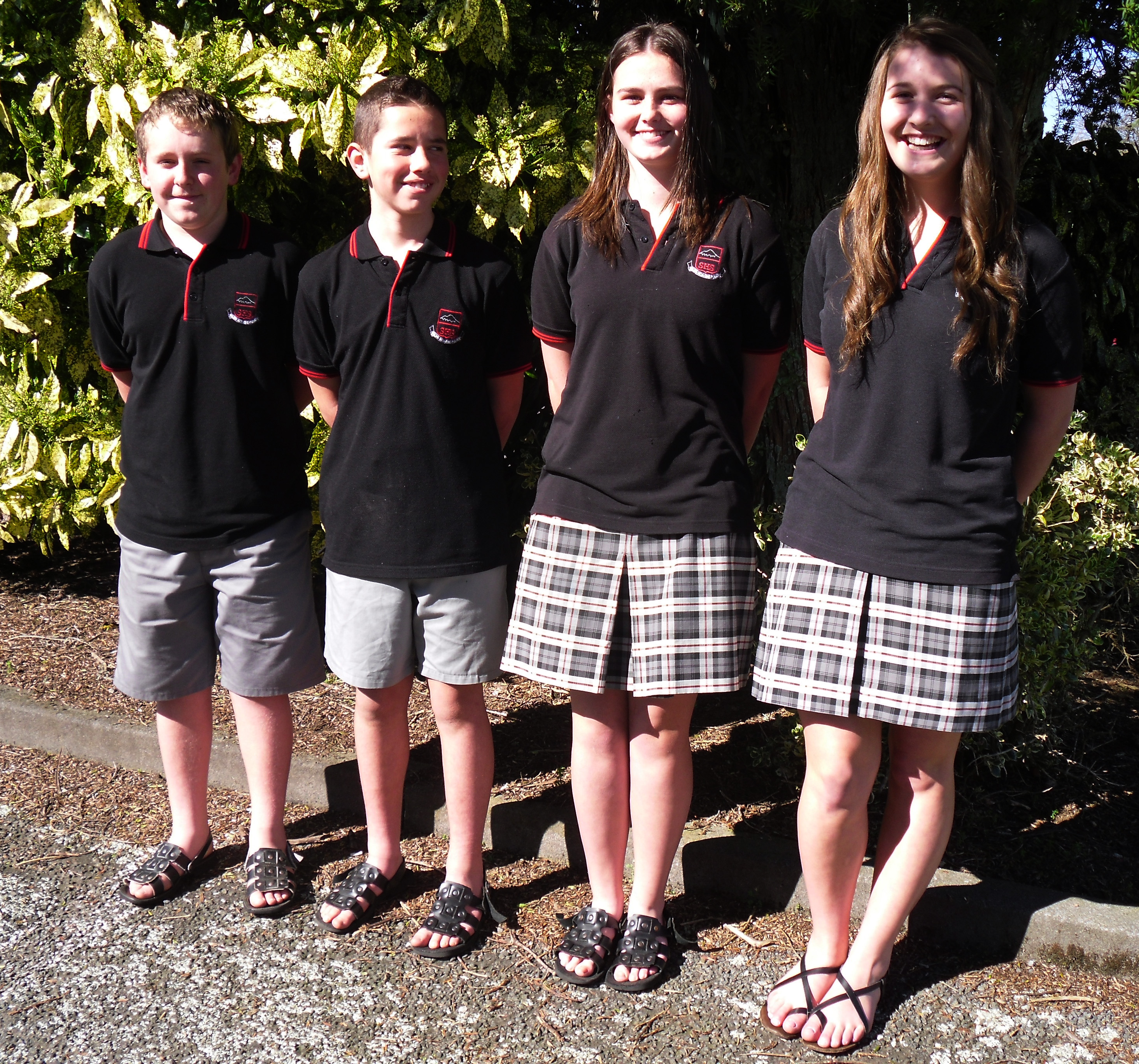 Junior boys and girls winter uniform